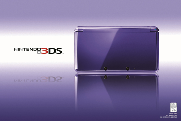 Midnight Purple 3DS Hits The U.S. On May 20th