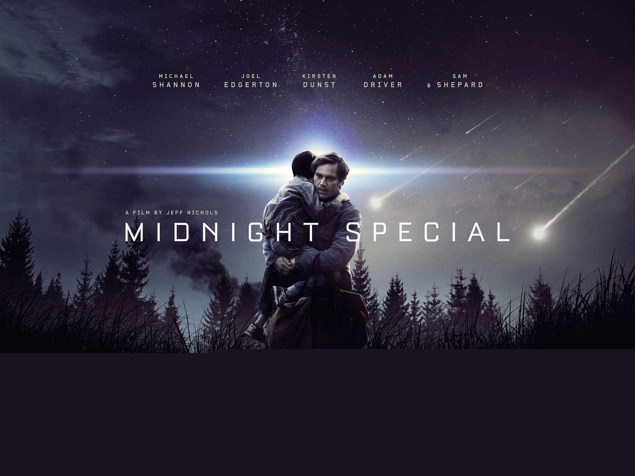 Midnight Special Trailer Shines A Neon-Blue Light On Michael Shannon's Father-Son Bond