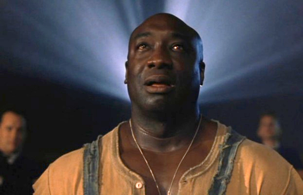 miglio verde john coffey 8 Of The Most Memorable Messianic Characters In Modern Cinema