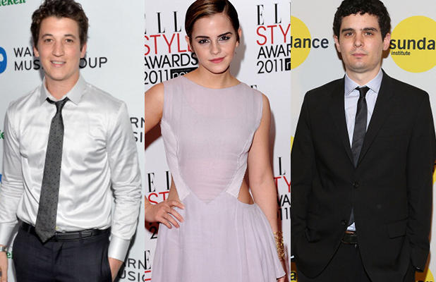 Miles Teller And Emma Watson May Go To La La Land For Whiplash Director Damien Chazelle