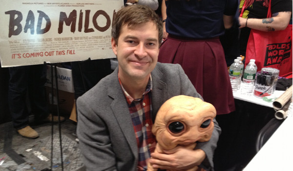 Exclusive Interview With Mark Duplass On Bad Milo! [New York Comic Con 2013]