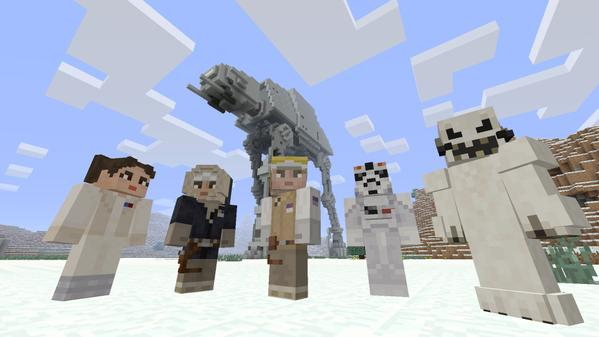 Minecraft's New Star Wars-Themed DLC Is Exclusive To Xbox Platforms
