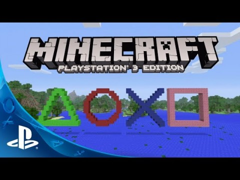 Retail Version Of Minecraft For PS3 Coming May 16th