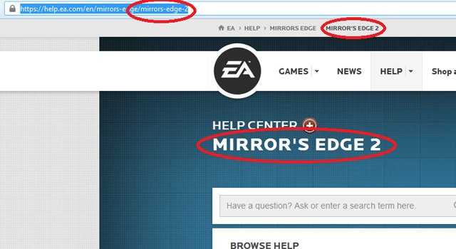 Mirror's Edge 2 Briefly Listed On EA's Help Center Website