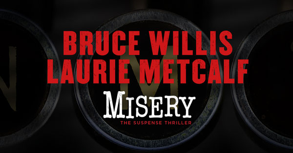 First Look: Laurie Metcalf And Bruce Willis Embrace Misery On Broadway