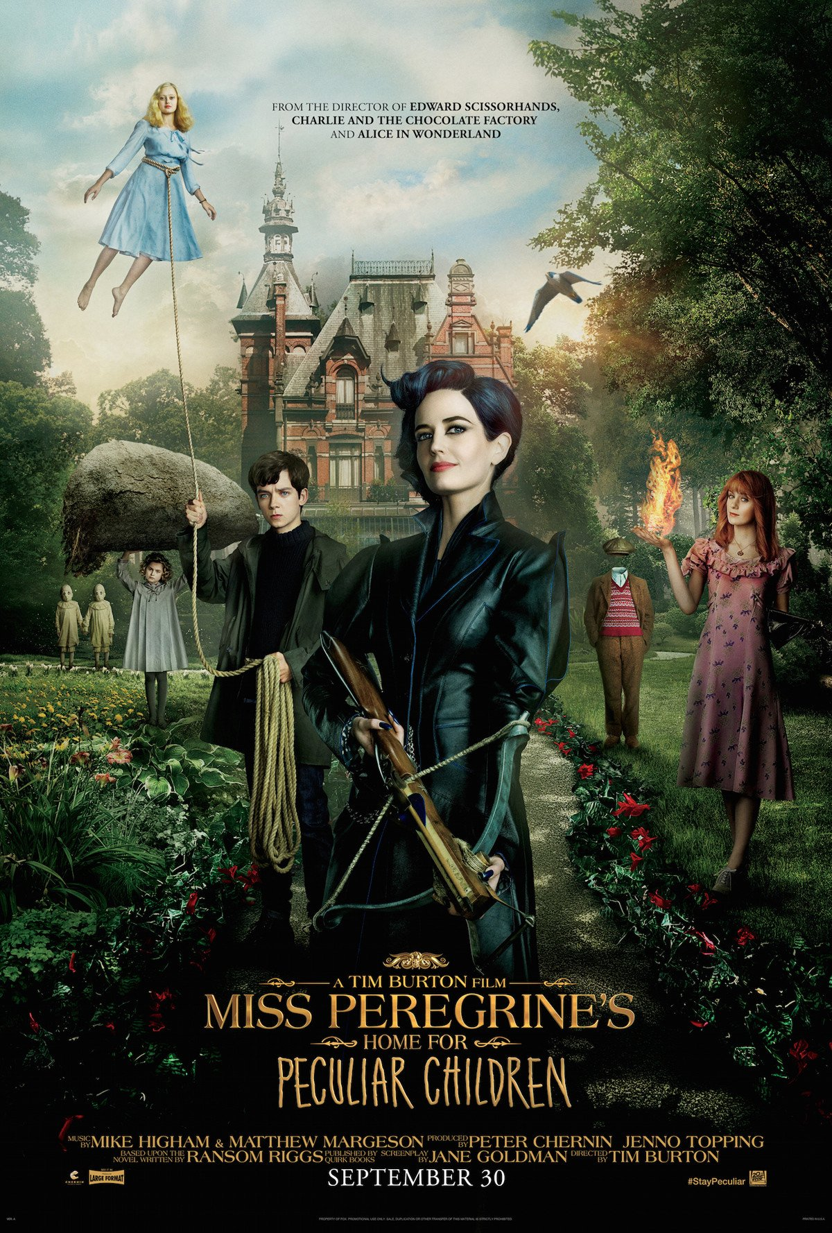 Take A Trip Inside Miss Peregrine's Home For Peculiar Children With New Featurette