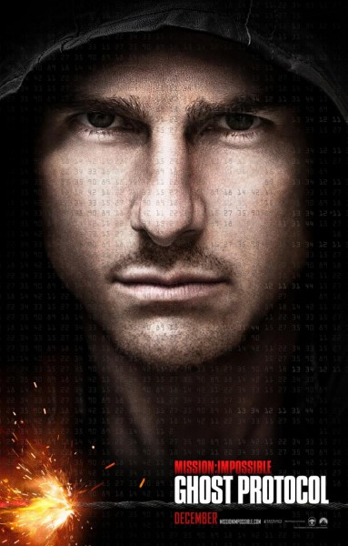 First Poster For Mission: Impossible - Ghost Protocol