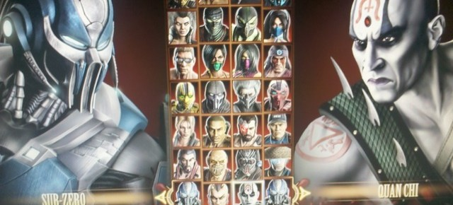 Mortal Kombat Character Select Screen Leaked