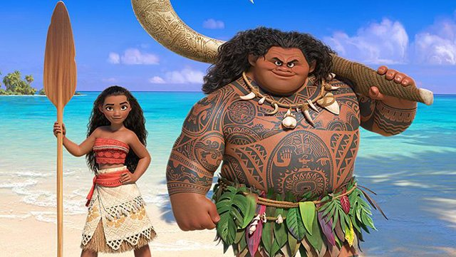 The Ocean Is Calling In First Poster For Disney's Fairytale Yarn Moana