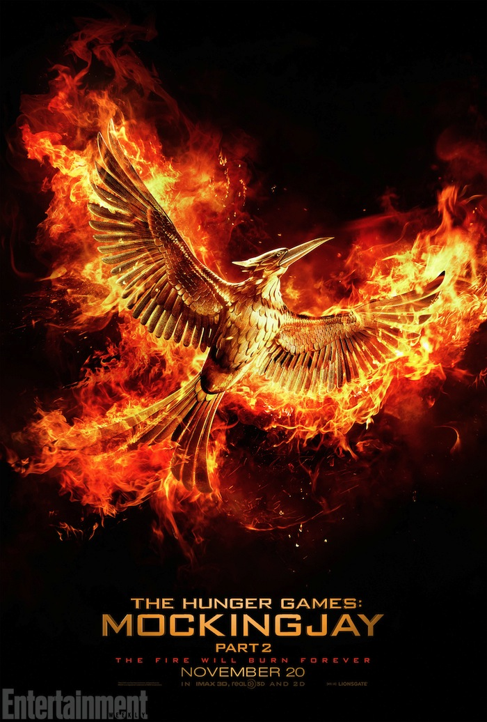 Fire Burns Forever In First Teaser And Poster For The Hunger Games: Mockingjay – Part 2