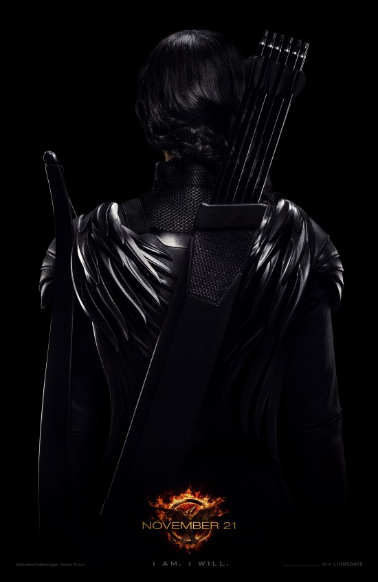Check Out Katniss From Behind In The Hunger Games: Mockingjay - Part 1 Poster