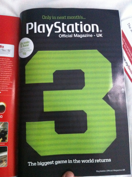 Modern Warfare 3 Revealed by Official PlayStation Magazine UK?