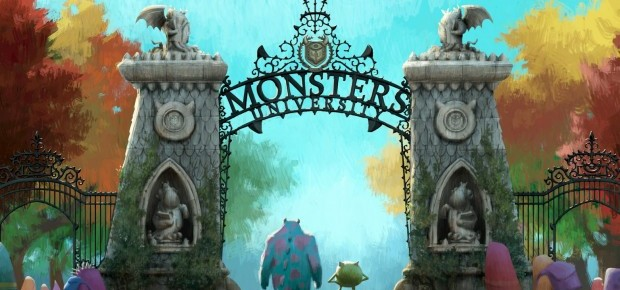 Brand New Concept Art For Pixar's Monsters University