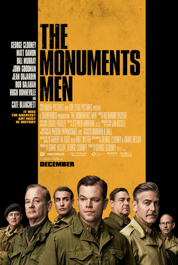 First Poster For The Monuments Men Shows Off The Impressive Cast