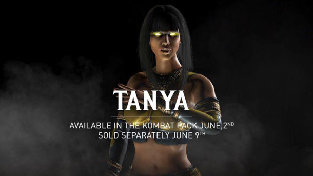 Tanya Joins The Mortal Kombat X Roster On June 2