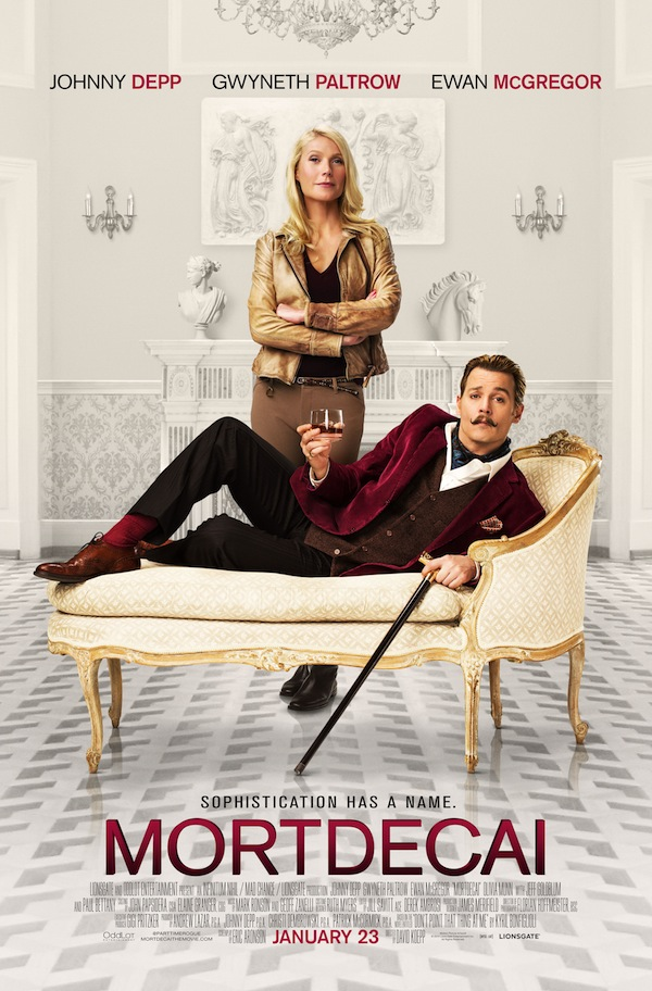 Johnny Depp Layers On The Spoof In New Trailer For Mortdecai
