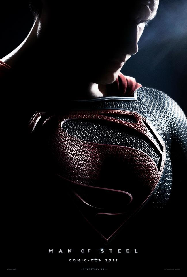 First Official Poster For Man Of Steel Released