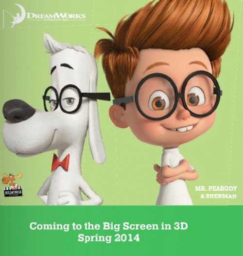 First Image From Dreamworks' Mr. Peabody and Sherman Arrives