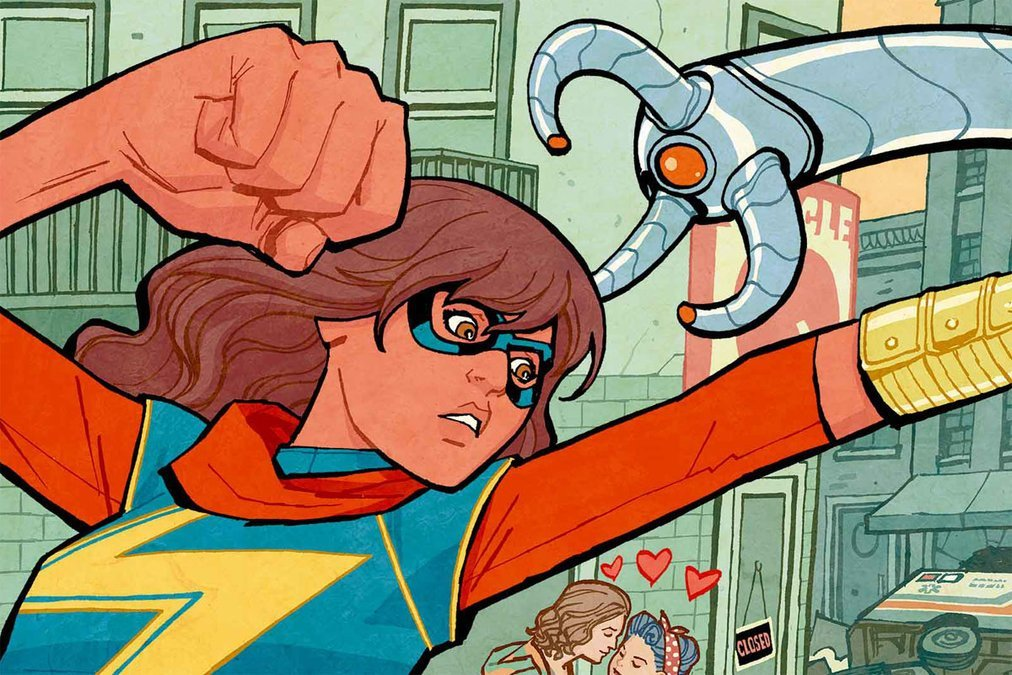 Sounds Like There Really Are Plans For A Ms. Marvel Movie/TV Show