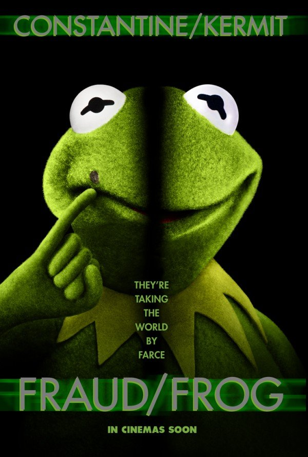 muppets most wanted poster parody face off