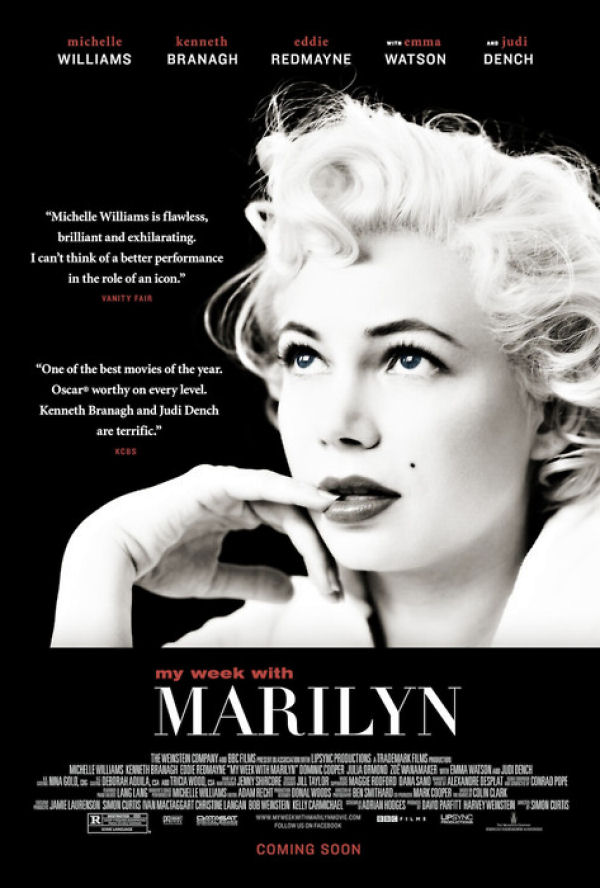 New My Week With Marilyn Poster