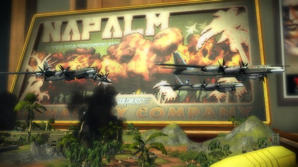 Toy Soldiers: Cold War - Napalm And Evil Empire DLC Review