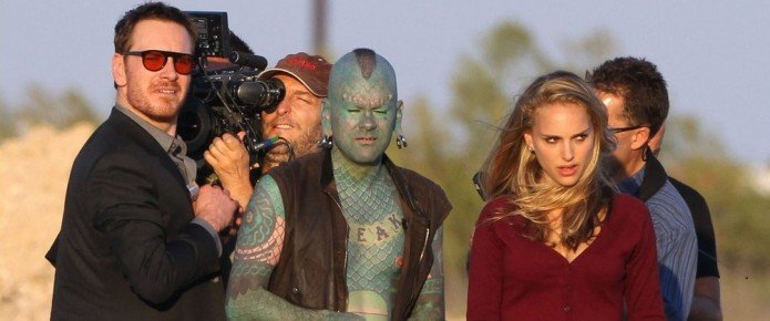 Boyd Holbrook & The Lizardman Film Scenes For The Untitled Terrence Malick Film