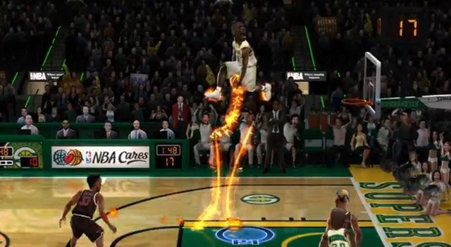 nba jam on fire edition NBA Jam: On Fire Edition And Chronovolt Free For PlayStation Plus
