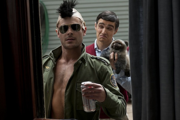 Zac Efron Throws A Robert De Niro Party In New Neighbors Clip