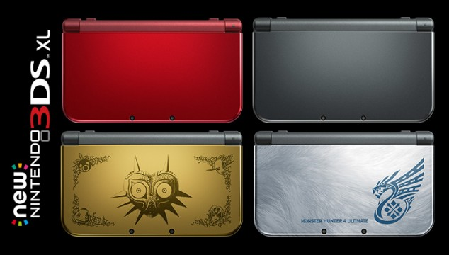 Launch Weekend Sales For Nintendo's New 3DS XL Outpaced 3DS XL