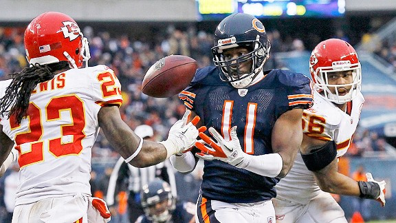 """The Bears """"Drop"""" One To The Chiefs 10-3"""