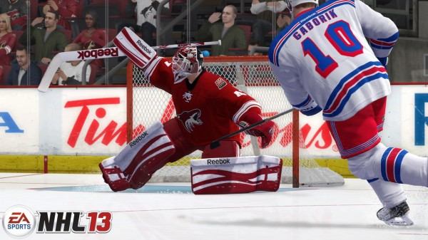 Showcasing The Improvements Made To EA's NHL 13 Goaltenders