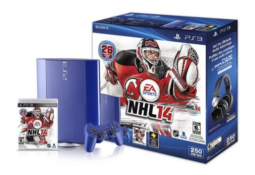 Canadian Retailers Will Soon Stock An Azurite Blue, NHL 14 Themed PS3 Bundle