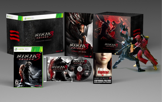 Ninja Gaiden 3 Collector's Edition Contents Revealed, New Multiplayer Trailer