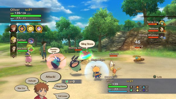 ninokuni3 Ni no Kuni: Wrath Of The White Witch Review