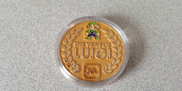 nintendo e3 2013 best buy luigi loot coin 2 640x321 Nintendo Wii U E3 2013 Best Buy Event: Pictures And Off Screen Footage