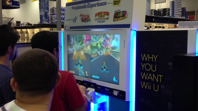 nintendo e3 2013 best buy mario kart 8 3 Nintendo Wii U E3 2013 Best Buy Event: Pictures And Off Screen Footage