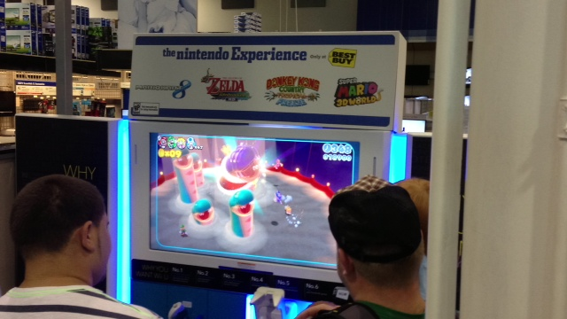 nintendo e3 2013 best buy super mario world 1 Nintendo Wii U E3 2013 Best Buy Event: Pictures And Off Screen Footage