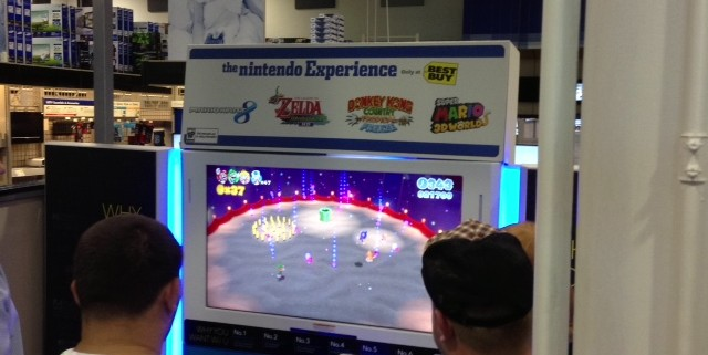 nintendo e3 2013 best buy super mario world 2 640x321 Nintendo Wii U E3 2013 Best Buy Event: Pictures And Off Screen Footage