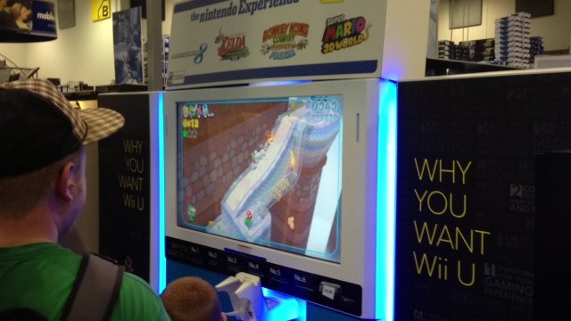 nintendo e3 2013 best buy super mario world 3 Nintendo Wii U E3 2013 Best Buy Event: Pictures And Off Screen Footage