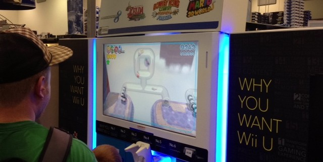 nintendo e3 2013 best buy super mario world 4 640x321 Nintendo Wii U E3 2013 Best Buy Event: Pictures And Off Screen Footage