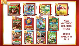 Video Games Plus Reveals 12 New Nintendo Selects Titles, Including Pikmin 3