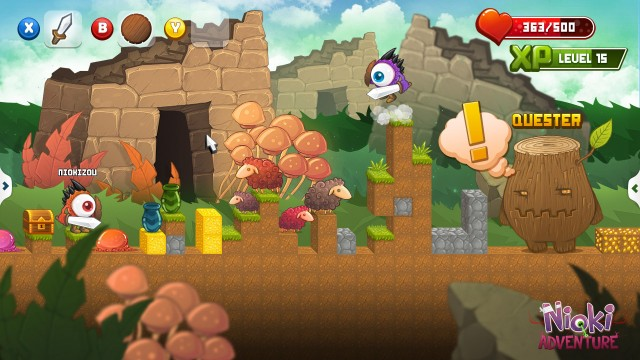 Nioki Adventure Could Draw You Back Into 2D Side Scrolling Co-Op Games