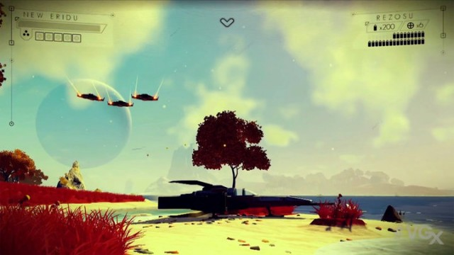 Hello Games' No Man's Sky Shoots For The Stars In VGX Debut