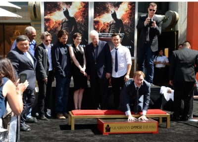 Christopher Nolan Honoured At Grauman's Chinese Theatre In Los Angeles
