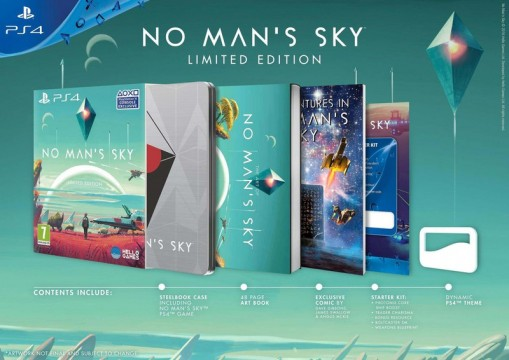 Universe-Spanning No Man's Sky Launches June 21 On PlayStation 4 And PC