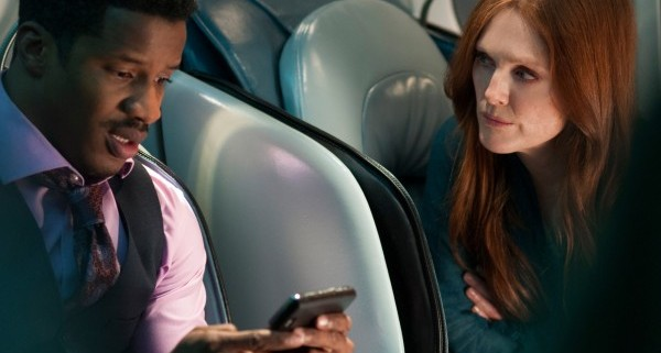 non stop nate parker julianne moore 600x398 600x321 Non Stop Gallery