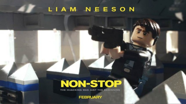 Non-Stop Gets The LEGO Treatment