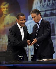 Obama Tackles The Daily Show