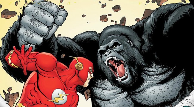 "Grant Gustin Teases Another Reverse-Flash Twist And ""Amazing"" Gorilla Grodd"